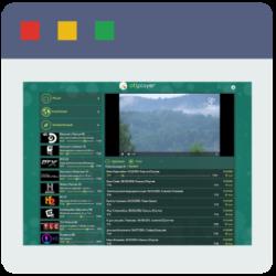 Просмотр OTTCLUB на портале webplayer.ottplayer.org